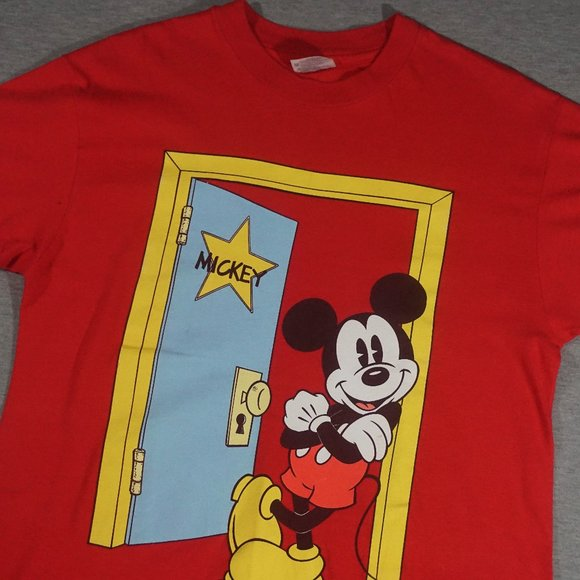 Hanes Other - 90's Vintage Mickey Mouse T Shirt